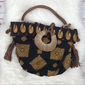 Anthro Jasper & Jeera African Hobo Bag U0588